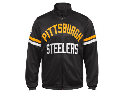 Pittsburgh Steelers G-III Sports NFL Men's Veteran Track Jacket