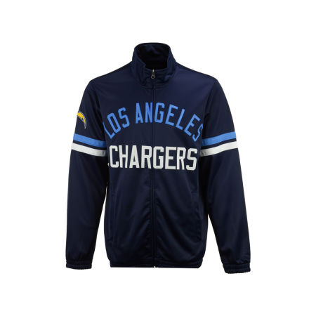 Los Angeles Chargers G-III Sports NFL Men's Veteran Track Jacket