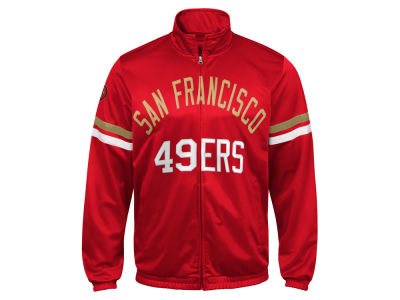 San Francisco 49ers G-III Sports NFL Men's Veteran Track Jacket