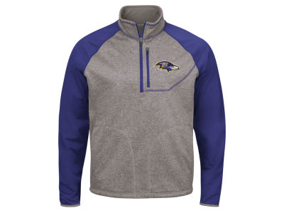 Baltimore Ravens G-III Sports NFL Men's Mountain Trail Quarter Zip Pullover