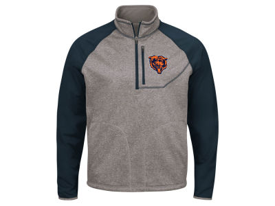 Chicago Bears G-III Sports NFL Men's Mountain Trail Quarter Zip Pullover