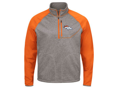 Denver Broncos G-III Sports NFL Men's Mountain Trail Quarter Zip Pullover