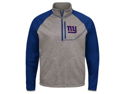 New York Giants G-III Sports NFL Men's Mountain Trail Quarter Zip Pullover