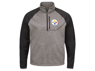 Pittsburgh Steelers G-III Sports NFL Men's Mountain Trail Quarter Zip Pullover