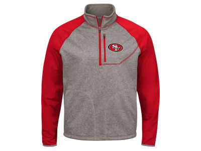 San Francisco 49ers G-III Sports NFL Men's Mountain Trail Quarter Zip Pullover