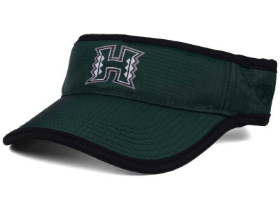 Hawaii Warriors Top of the World NCAA Baked Visor