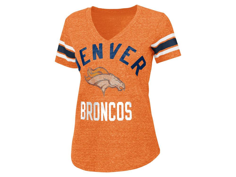 Denver Broncos G-III Sports NFL Women s Big Game Rhinestone T-Shirt ... 5d976cd2f