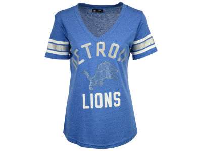 Detroit Lions G-III Sports NFL Women's Big Game Rhinestone T-Shirt