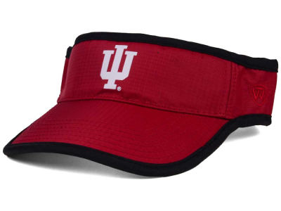 Indiana Hoosiers Top of the World NCAA Baked Visor