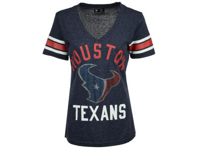Houston Texans G-III Sports NFL Women's Big Game Rhinestone T-Shirt