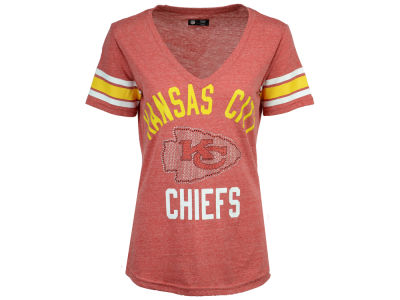 Kansas City Chiefs G-III Sports NFL Women's Big Game Rhinestone T-Shirt