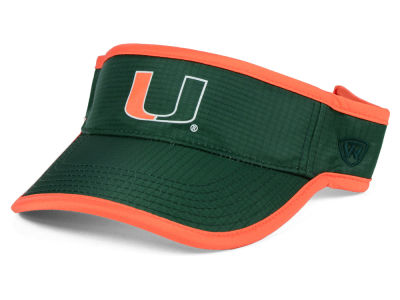 Miami Hurricanes Top of the World NCAA Baked Visor