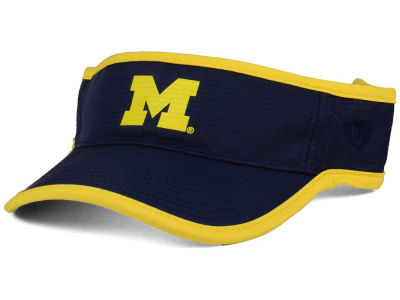 Michigan Wolverines Top of the World NCAA Baked Visor