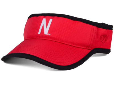 Nebraska Cornhuskers Top of the World NCAA Baked Visor