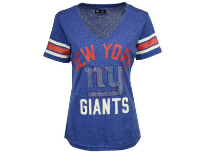 New York Giants G-III Sports NFL Women's Big Game Rhinestone T-Shirt