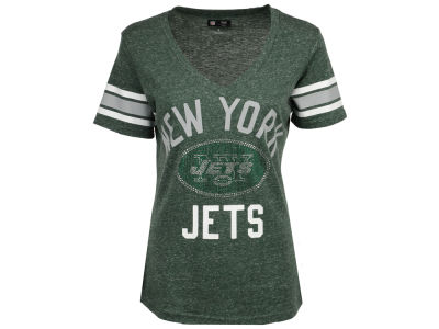 New York Jets G-III Sports NFL Women's Big Game Rhinestone T-Shirt
