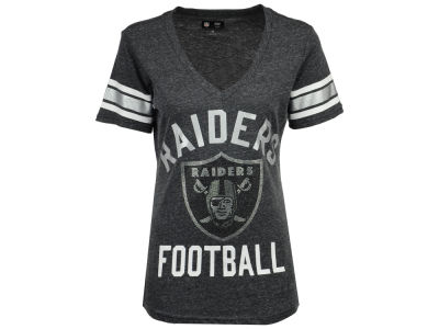 Oakland Raiders G-III Sports NFL Women's Big Game Rhinestone T-Shirt