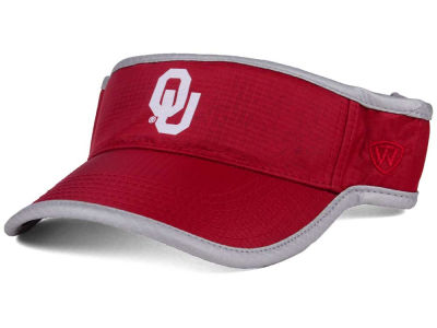 Oklahoma Sooners Top of the World NCAA Baked Visor