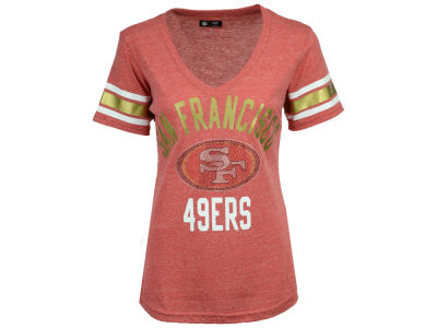 San Francisco 49ers G-III Sports NFL Women's Big Game Rhinestone T-Shirt