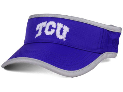 Texas Christian Horned Frogs Top of the World NCAA Baked Visor