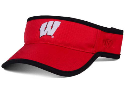 Wisconsin Badgers Top of the World NCAA Baked Visor