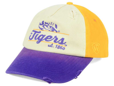 LSU Tigers Top of the World NCAA Sundown Cap