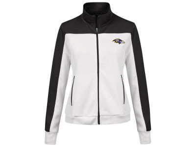 Baltimore Ravens G-III Sports NFL Women's PlayMaker Rhinestone Track Jacket