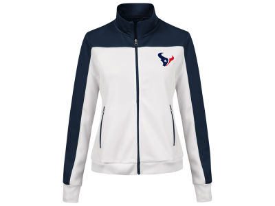 Houston Texans G-III Sports NFL Women's PlayMaker Rhinestone Track Jacket