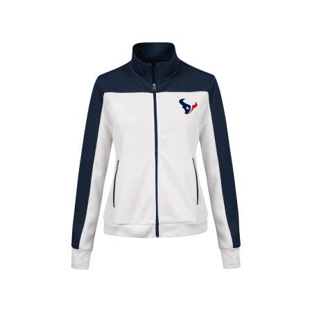 Houston Texans G-III Sports NFL Women's PlayMaker Rhinestone Track Jacket