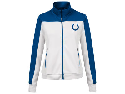 Indianapolis Colts G-III Sports NFL Women's PlayMaker Rhinestone Track Jacket