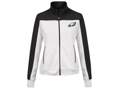 Philadelphia Eagles G-III Sports NFL Women's PlayMaker Rhinestone Track Jacket