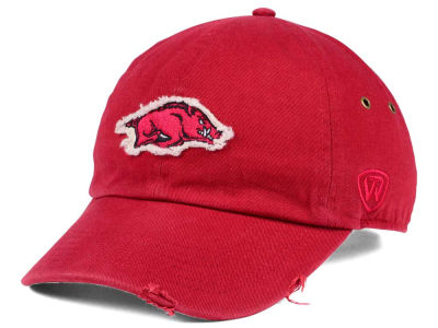 Arkansas Razorbacks Top of the World NCAA Rugged Relaxed Cap