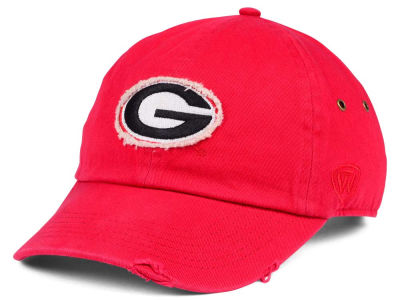 Georgia Bulldogs Top of the World NCAA Rugged Relaxed Cap