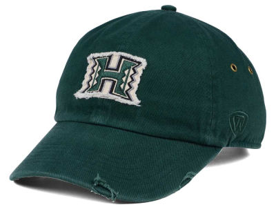 Hawaii Warriors Top of the World NCAA Rugged Relaxed Cap