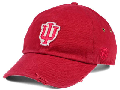 Indiana Hoosiers Top of the World NCAA Rugged Relaxed Cap