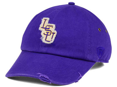LSU Tigers Top of the World NCAA Rugged Relaxed Cap