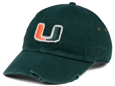 Miami Hurricanes Top of the World NCAA Rugged Relaxed Cap