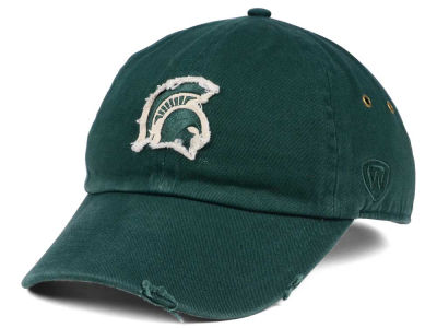 Michigan State Spartans Top of the World NCAA Rugged Relaxed Cap