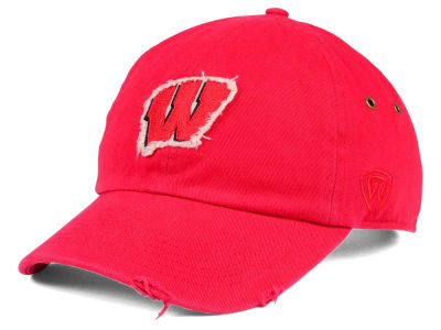 Wisconsin Badgers Top of the World NCAA Rugged Relaxed Cap