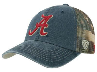 Alabama Crimson Tide Top of the World NCAA Flagtacular Cap