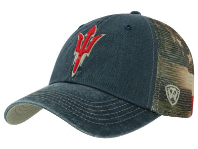 Arizona State Sun Devils Top of the World NCAA Flagtacular Cap