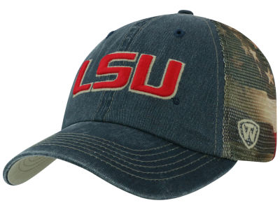 LSU Tigers Top of the World NCAA Flagtacular Cap