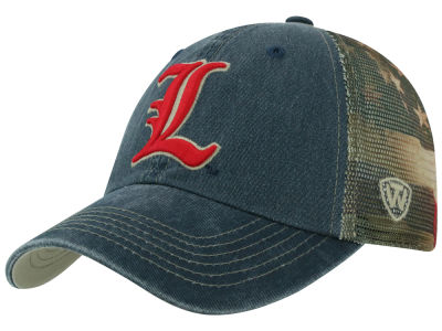 Louisville Cardinals Top of the World NCAA Flagtacular Cap