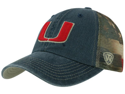 Miami Hurricanes Top of the World NCAA Flagtacular Cap