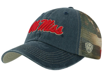 Ole Miss Rebels Top of the World NCAA Flagtacular Cap