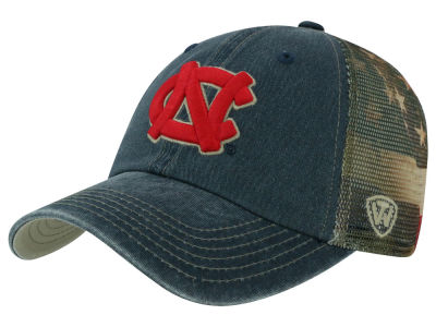 sale retailer 3d189 2fafd North Carolina Tar Heels Top of the World NCAA Flagtacular Cap