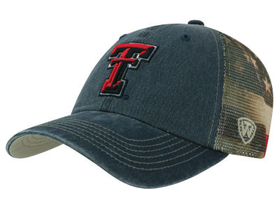 Texas Tech Red Raiders Top of the World NCAA Flagtacular Cap
