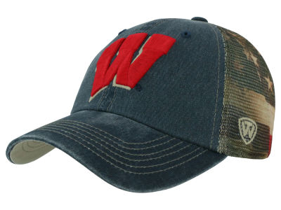Wisconsin Badgers Top of the World NCAA Flagtacular Cap