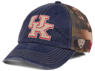 Kentucky Wildcats Top of the World NCAA Flagtacular Cap