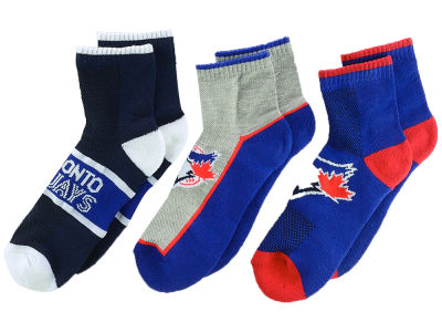 3-pack Youth Quarter Socks